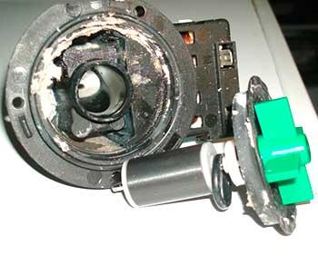 desarme de bomba de vaciado Bosch averiada